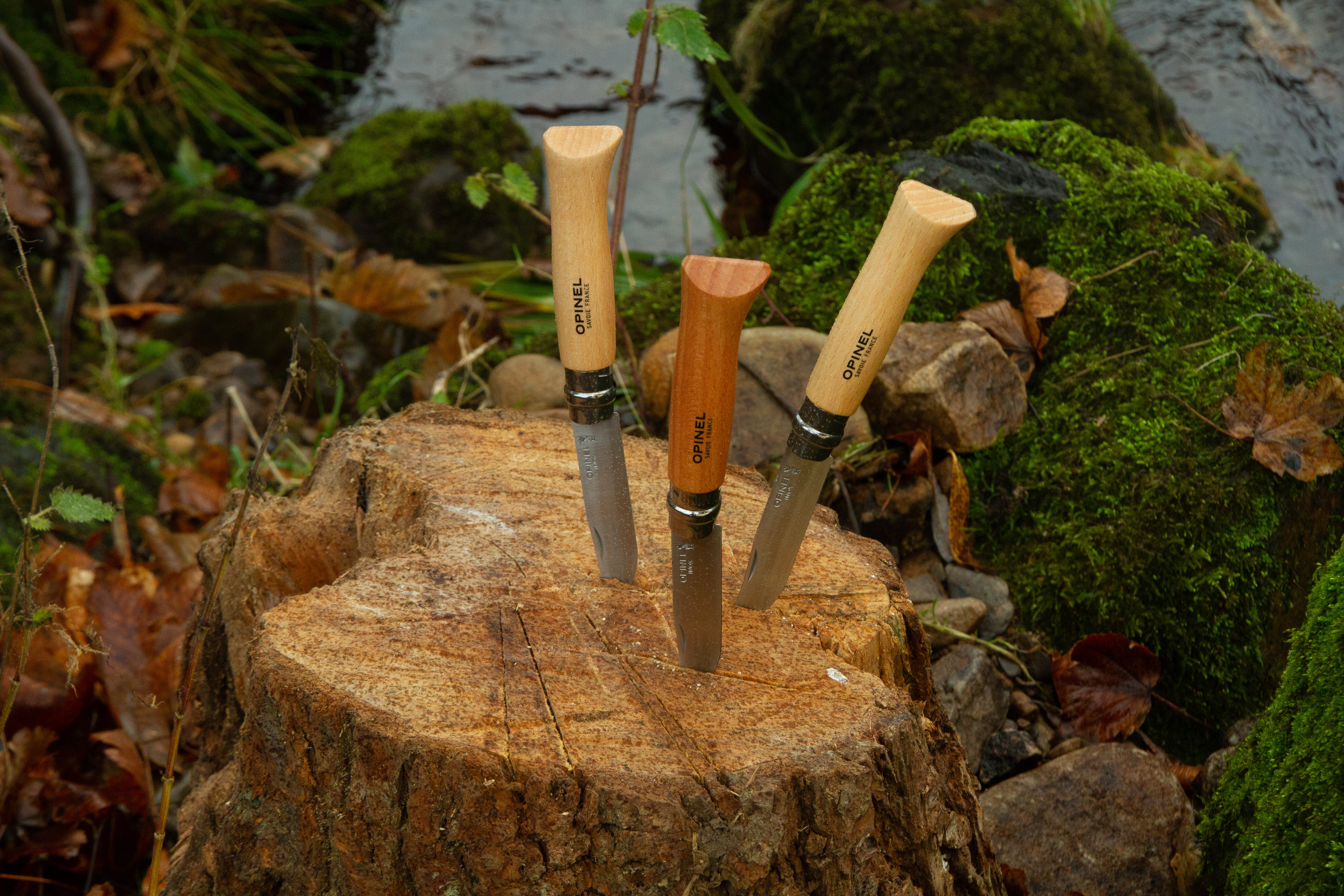 Opinel № 8  knife with Stainless steel blade (Virobloc Locking)