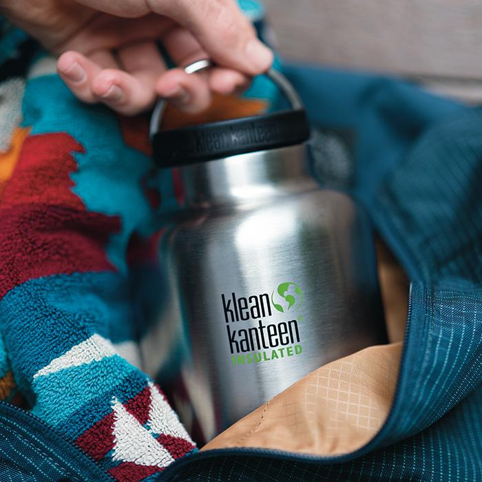 Klean Kanteen Insulated TK Wide 1900ml Loop Cap Brushed Stainless Flask
