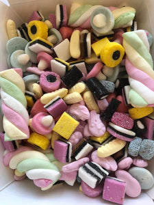 1KG of bespoke pick 'n' mix - your choice of sweets