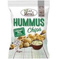 Eat Real creamy dill hummus chips