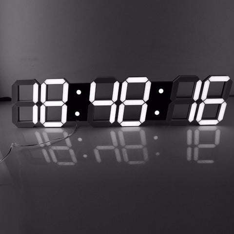Modern Digital Wall Clock