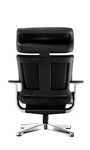 Modern Black Leather  Chair