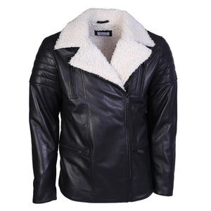 Classic Shearling Leather Jacket