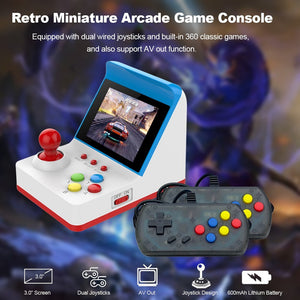 Retro Mini - Arcade Game Console With Games