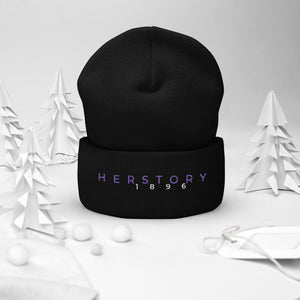 Rewriting HIStory Cuffed Beanie