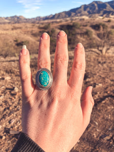 Whitewater Turquoise Ring