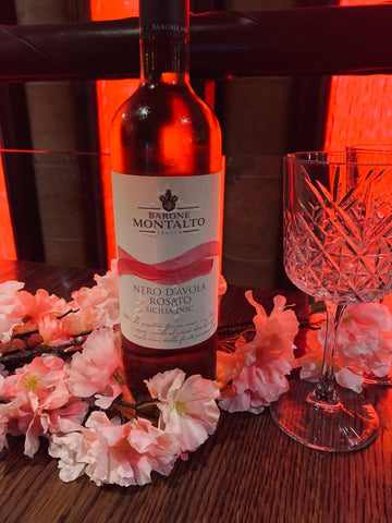 Bottle of Rose Wine - Nero D'Avola Rosato - 750ml