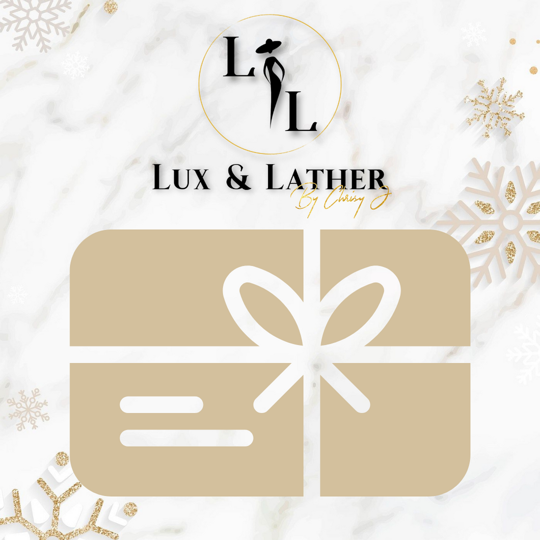 Lux and Lather E-Gift Card
