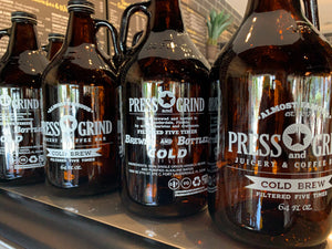 64oz Cold Brew Growler - Half Gallon