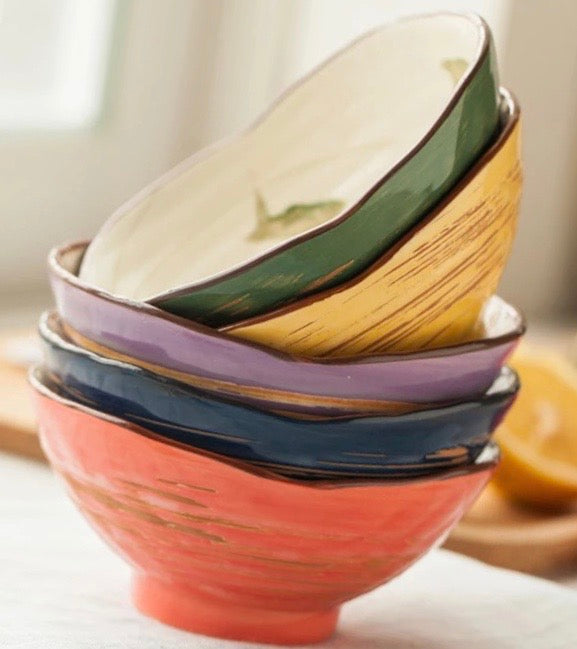 Colorful Mix & Match Bowls