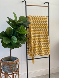 "Jua - ""Sunshine"" Textured Throw Blanket"