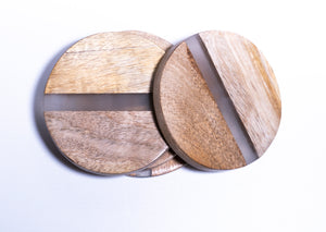 Wood & Resin Coasters
