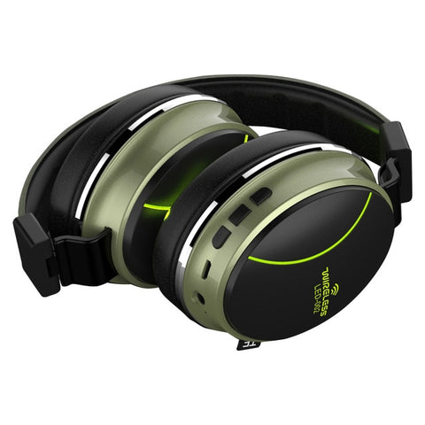 New Wireless Bluetooth Foldable Compact Headset Headphones For PC Gaming iPhone Androids