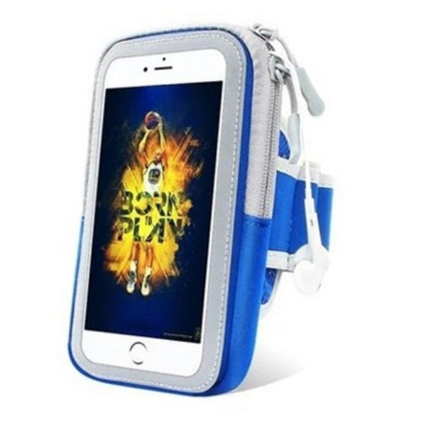 New Protective Sport Running Armband Brassard Phone Holder Pouch For iPhone Android Samsung