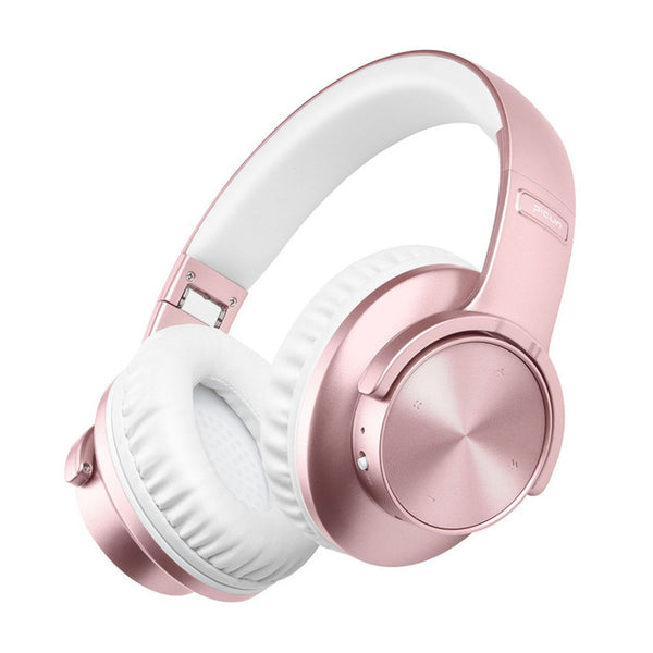 New Bluetooth Touch Control Wireless Headphone With Mic For Computers iPhones Androids