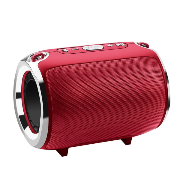 New Bluetooth Wireless Stereo Column HIFI Portable Boombox Speaker For iPhone Androids