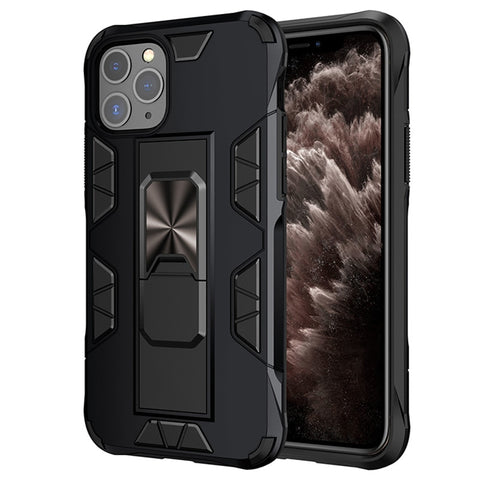 New Rugged Kickstand Metal Magnetic Ring Cover Case for iPhone 11 Pro XS MAX XR X SE2020
