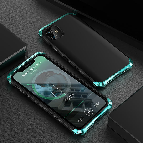 New Luxury Heavy Duty Shock and Dust-Resistant Phone Case for iPhone 11 X XR XS Series
