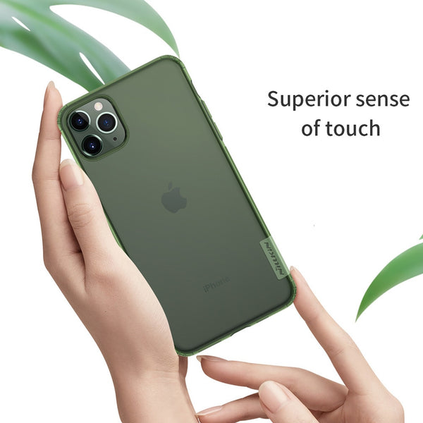 New Sleek Soft Nature Colored See Through Case For iPhone 11 Series