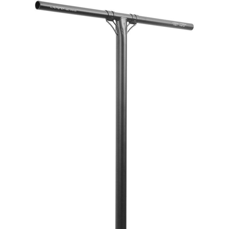 Triad Launder Chromoly Scooter Handle Bars - Satin Black Scooter Bars Triad