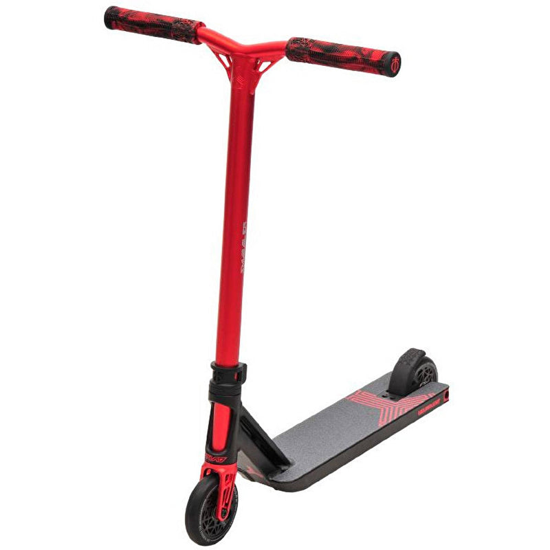 Triad Stunt Scooter Delinquent Mini - Black/Red Complete Scooters Triad
