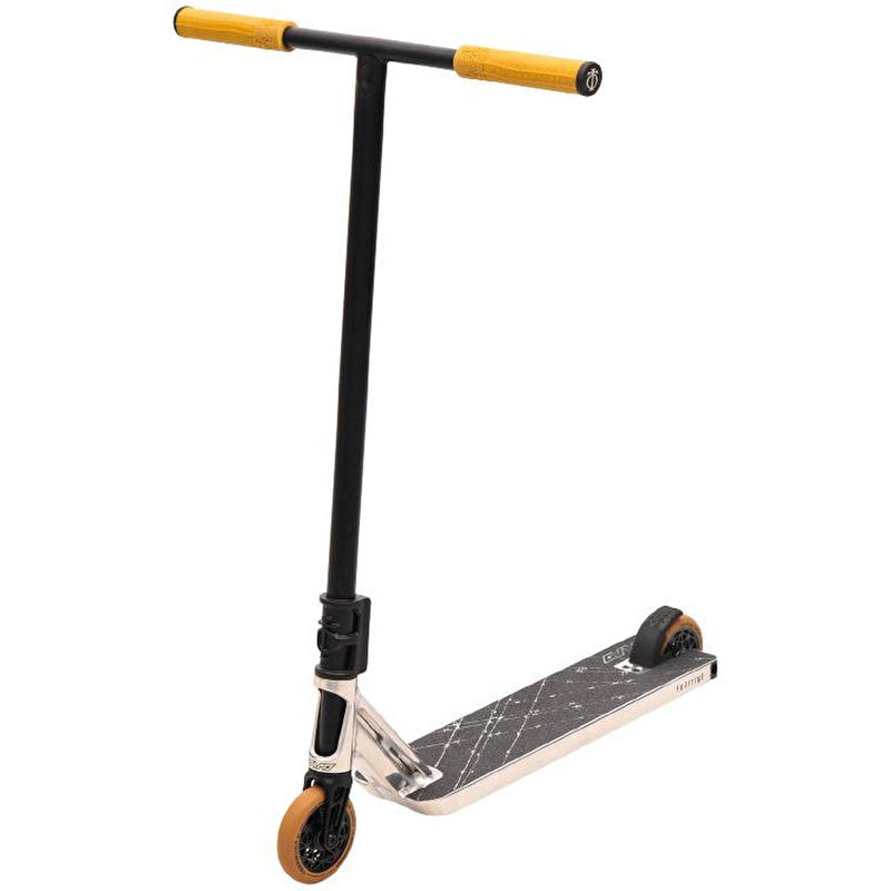 Triad Stunt Scooter Fugitive - Neo Silver/Black/Gum Complete Scooters Triad