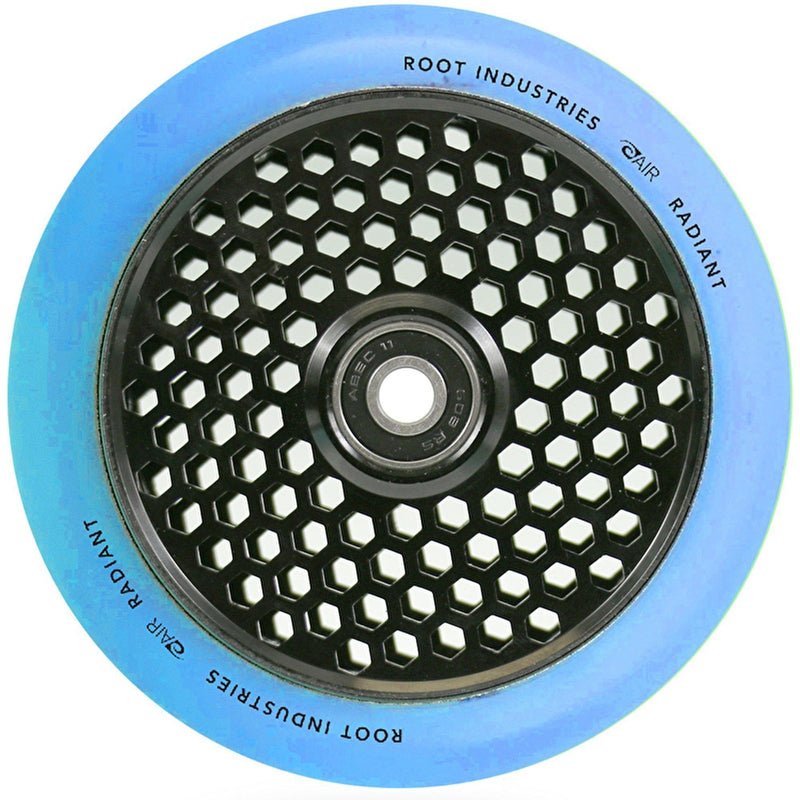 Root Industries Scooters Honeycore Stunt Scooter Wheels 110mm, Blue/Black Scooter Wheels Root Industries