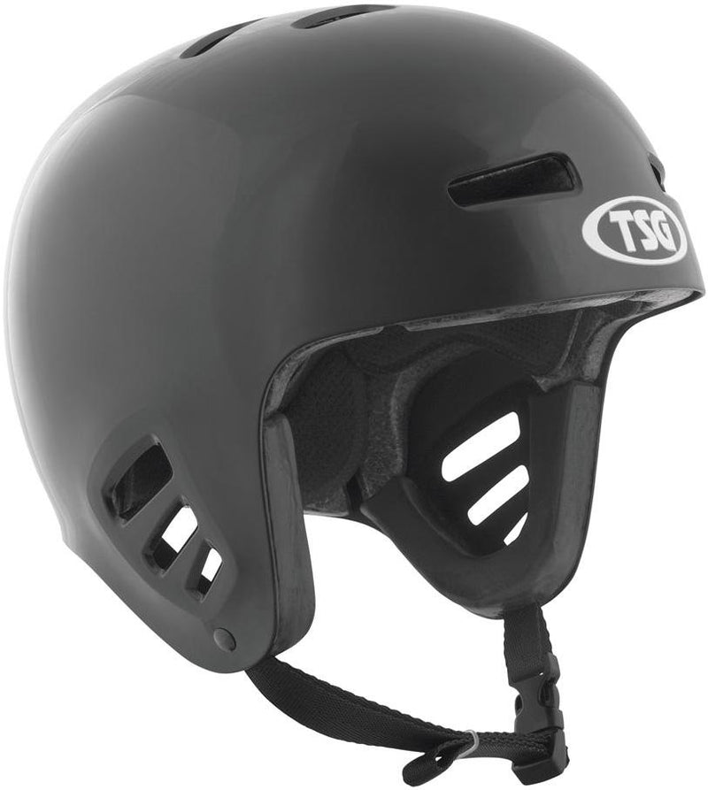 TSG Full Cut Dawn Flex Helmet, Black Protection TSG Large-XLarge