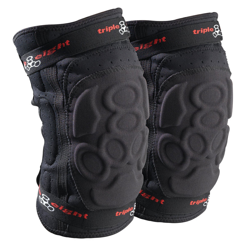 Triple 8 Exo Skin Knee Pads, Black Protection Triple 8 Large