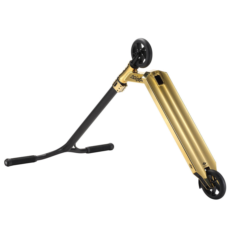 Sacrifice Scooters Flyte 120 Complete Stunt Scooter, Gold Stunt Scooter Sacrifice