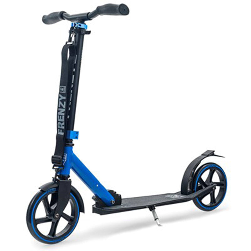 Frenzy Scooters 205mm Kids Recreational Scooter, Blue Stunt Scooter Frenzy Scooters