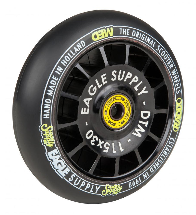 Eagle Supply Wheel 115mm Radix DTM Hollowtech Medium Stunt Scooter Eagle Supply Co
