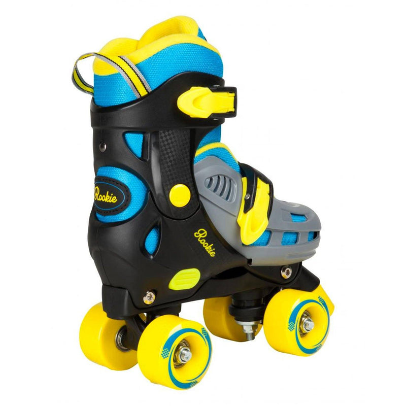 Rookie Adjustable Kids Roller Skate Duo - Blue/Yellow Kids Skates Rookie