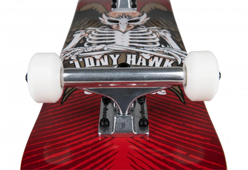 "Birdhouse Skateboards TH Icon Head Complete Skateboard 8.0"", Red"