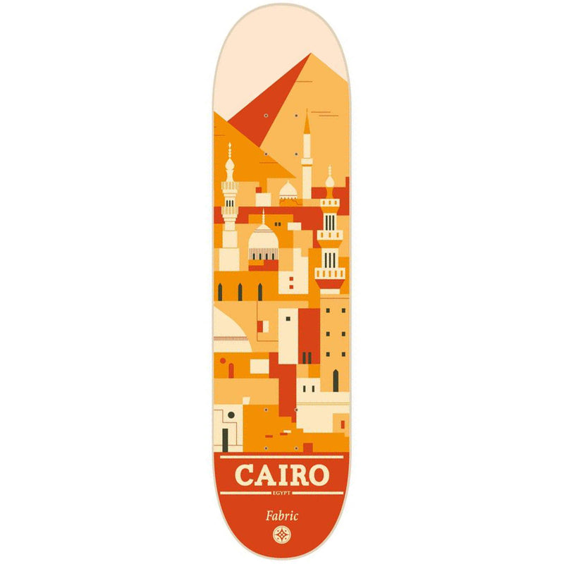 Fabric Skateboards Travel Series Cairo Deck 8.25""