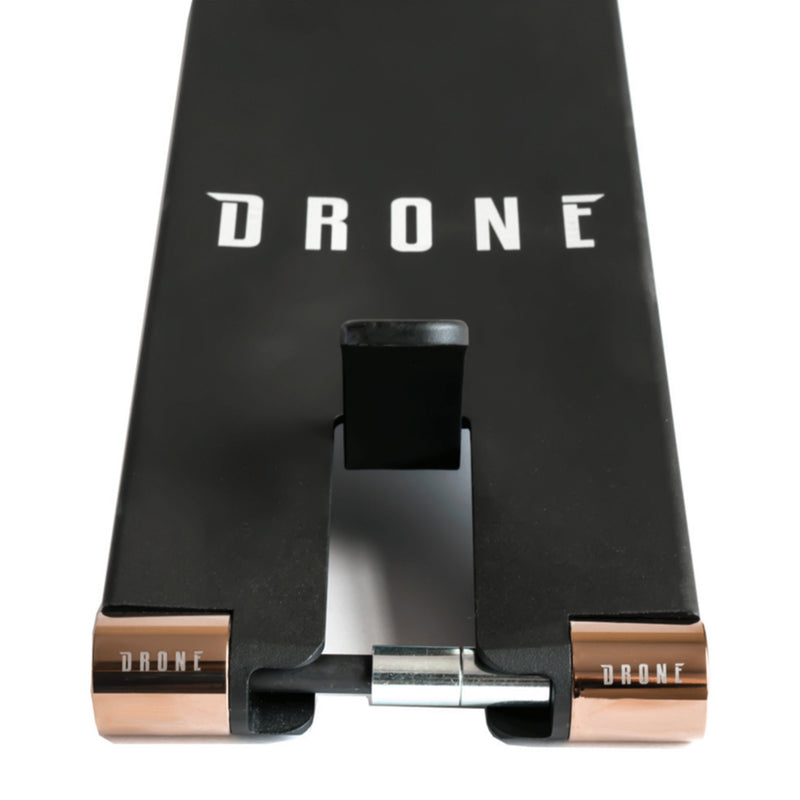 Drone Scooters ICON 3 Stunt Scooter Deck, Black Scooter Decks Drone