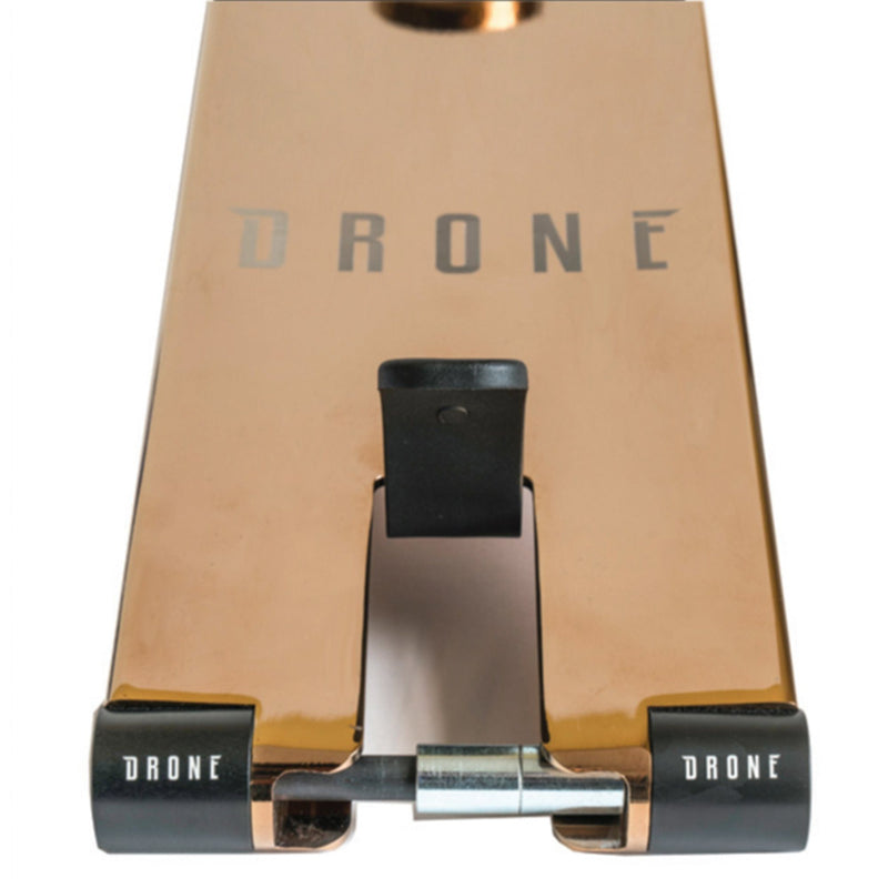 Drone Scooters ICON 3 Stunt Scooter Deck, Rose Gold Scooter Decks Drone
