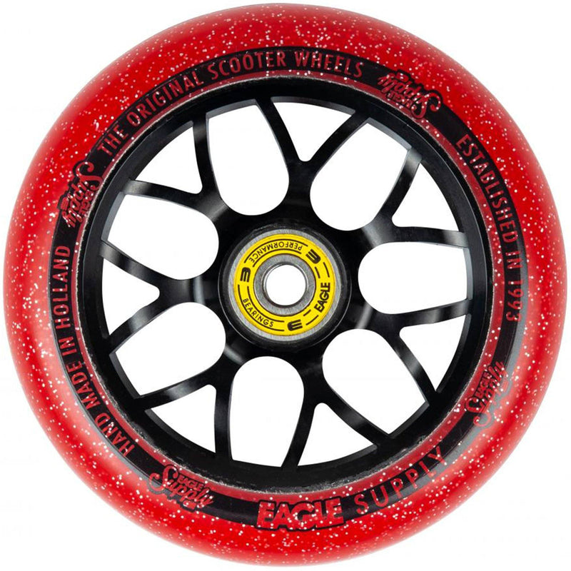Eagle Supply Wheels Standard X6 Candy Cores, Red Scooter Wheels Eagle Supply Co
