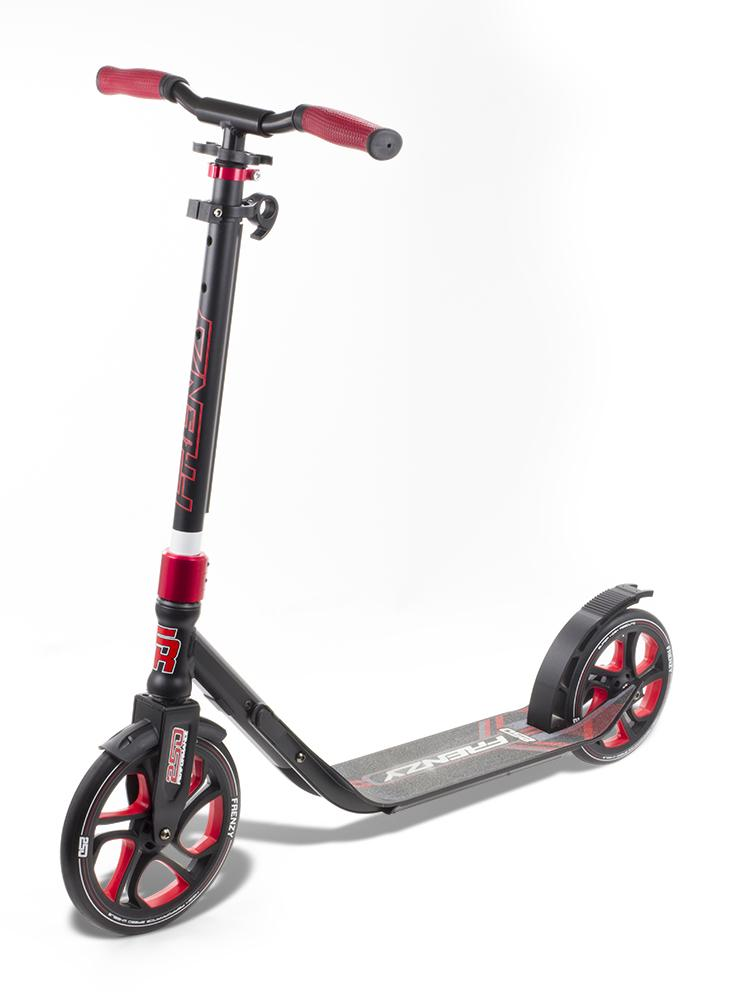 Frenzy Scooters 250mm Recreational / Commuter Scooter, Red Stunt Scooter Frenzy Scooters