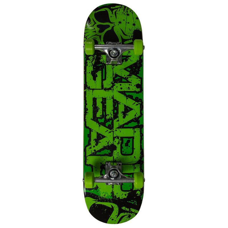 Madd Gear MGP Pro Series Complete Skateboard, Crunch Green
