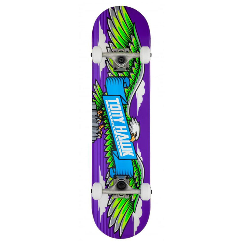 Tony Hawk Complete Skateboard Wingspan Purple, 7.75 complete skateboards Tony Hawk