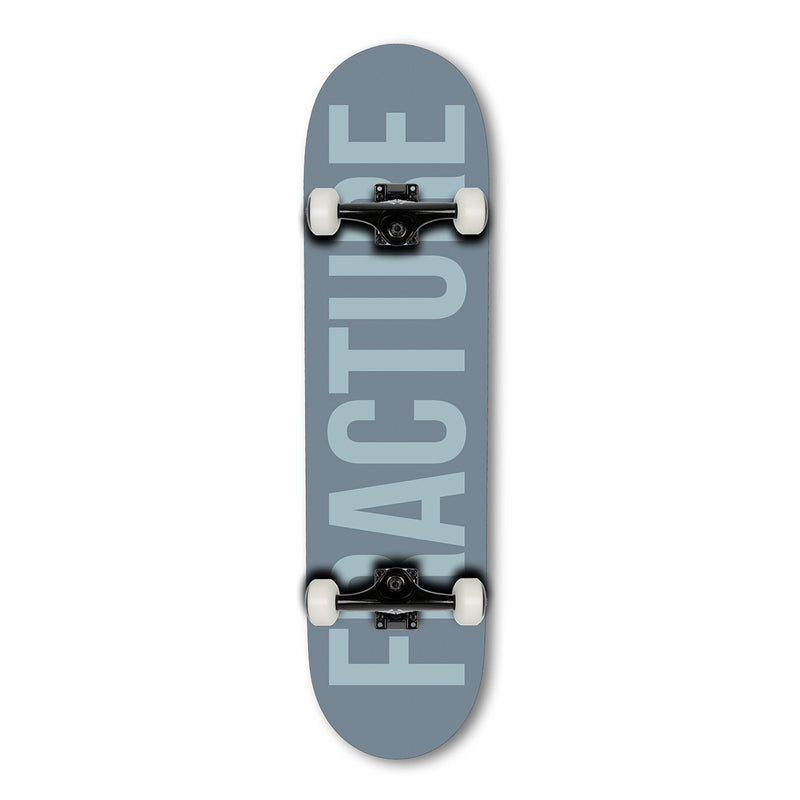 Fracture Skateboards Fade Grey Complete Skateboard - 8.25 Complete Skateboards Fracture