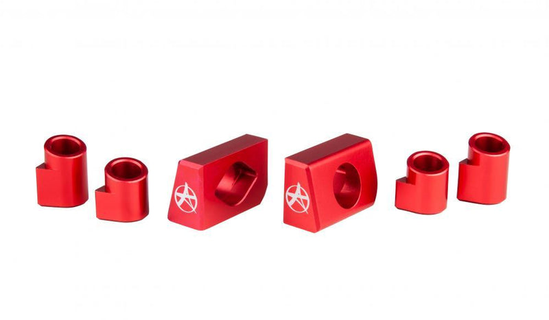 Addict Scooters Aluminium Deck Inserts - Bloody Red Scooter Parts Addict