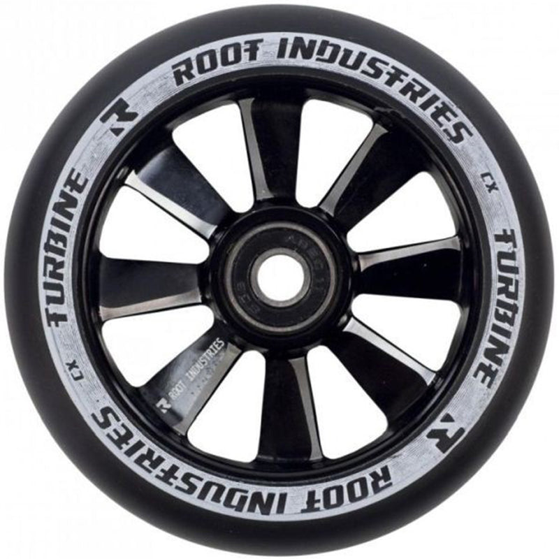 Root Industries Scooters Turbine Stunt Scooter Wheels 110mm, Black Scooter Wheels Root Industries