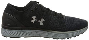 Under Armour Men's Charged Bandit 3 Running Shoe, Stealth Gray (008)/Black, 11.5