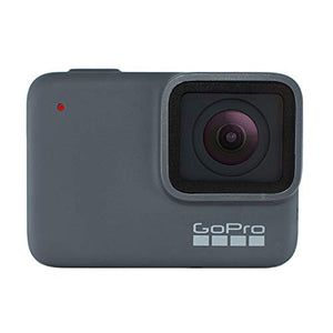 GoPro HERO 7 Silver Waterproof Digital Action Camera + Sandisk Extreme 32GB MicroSDHC Memory Card