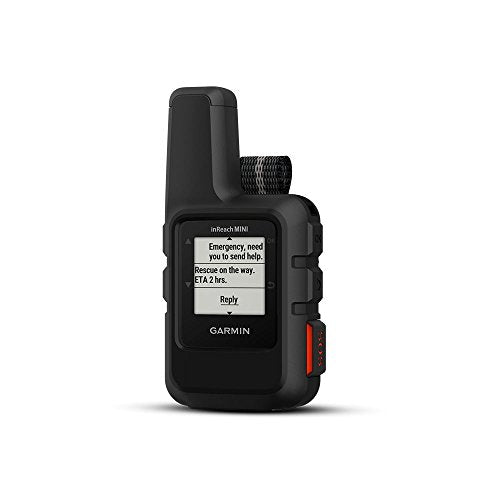 Garmin InReach Mini, Lightweight and Compact Satellite Communicator, Black