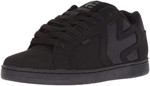Etnies Men's Fader 2 Skate Shoe, Black/Black/Black, 9.5 Medium US