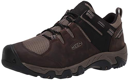 KEEN Men's Steens Vent Hiking Shoe, Brown, 7.5