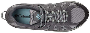Columbia Women's Redmond Trail Shoe, Boulder/Sky Blue, 6.5 US